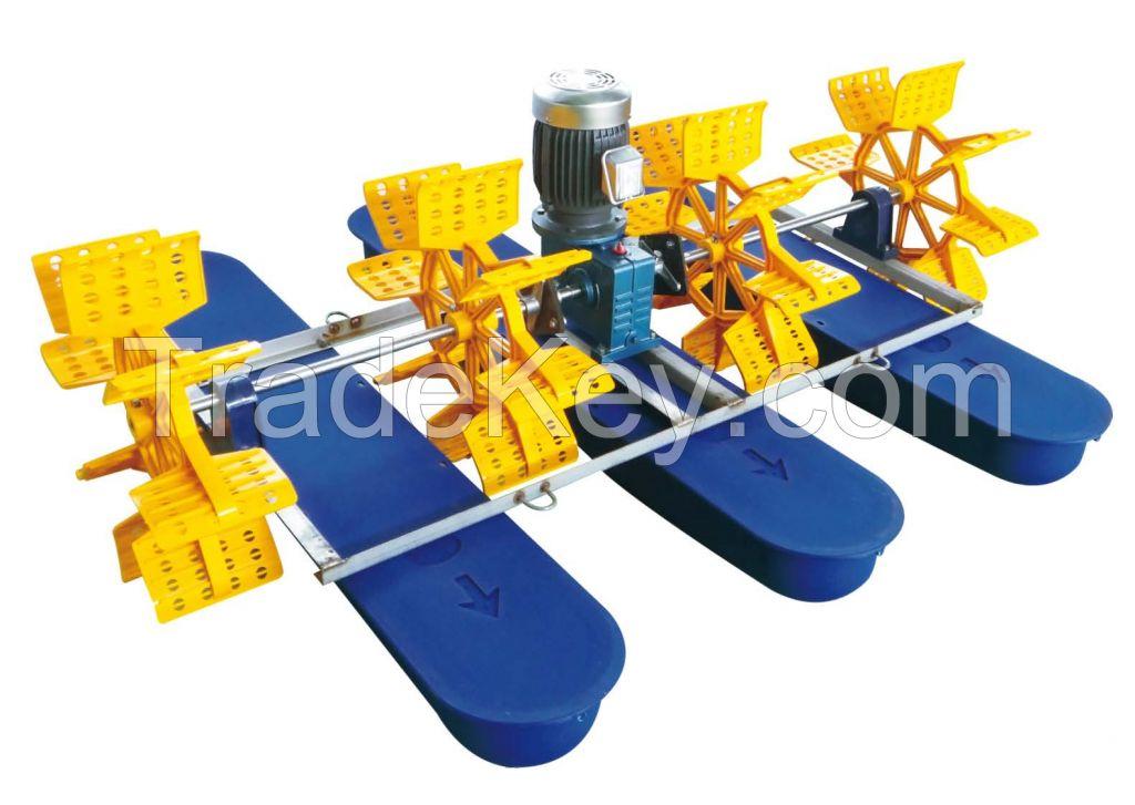 2 Horse Power 4 Impellers Paddle Wheel Aerator