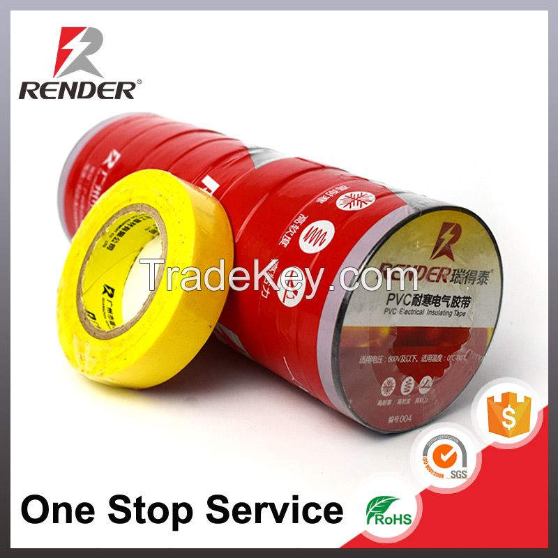 New Innovative Products 2018 Electronic PVC Insulating Gaffer Self Adhesive Tape Insulation Tape Roll