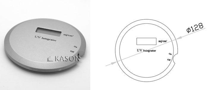 High precision UV Integrator energy meter