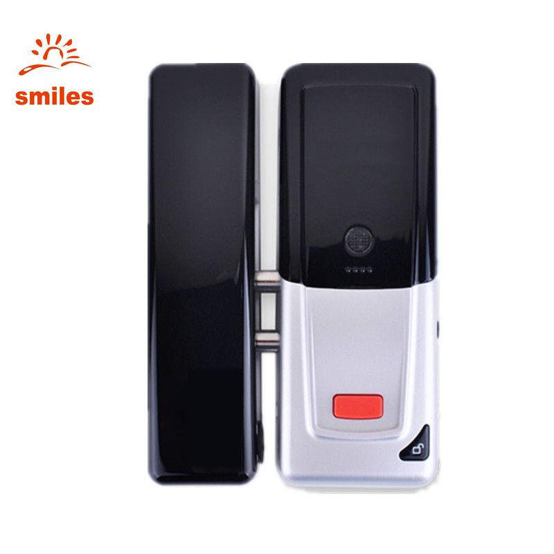 433mhz Electric Remote Wireless Hidden Glass Door Lock For Access Control System