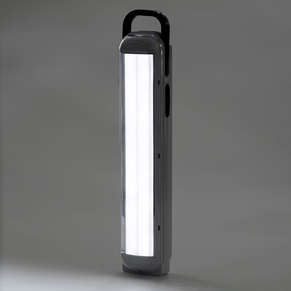 2018 India Pakistan best selling DP LED emergency light with rechargeable Lead Acid battery working up to 5 hours AC DC