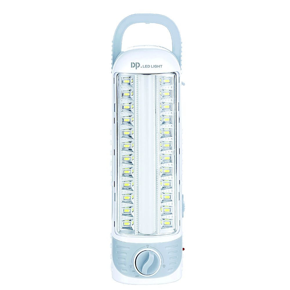DP LED emergency light with rechargeable Lead Acid battery working up to 4 hours AC 90-240V /DC5-7V