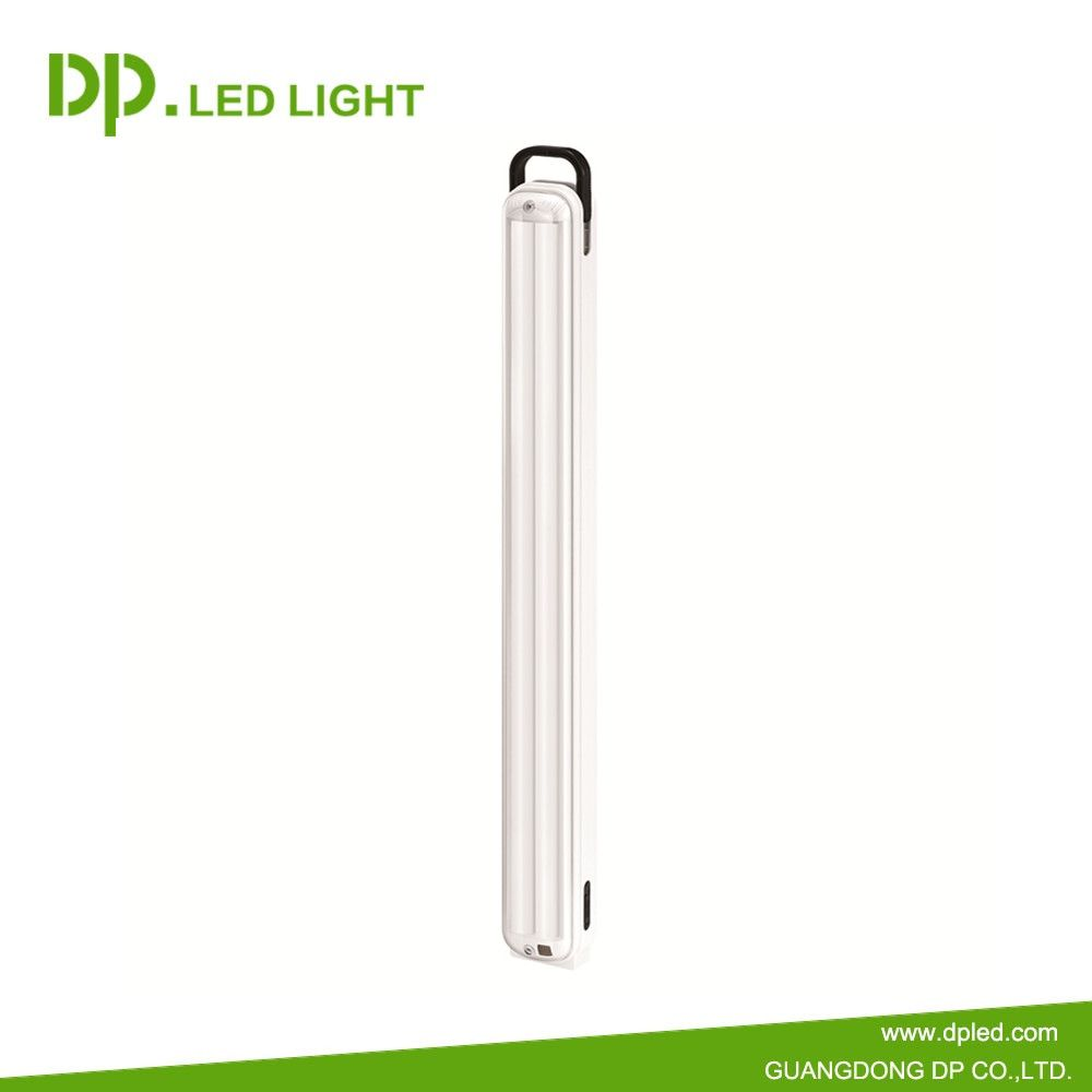13W DP LED emergency light with rechargeable Lead Acid battery working up to 10 hours AC 90-240V /DC5-7V model NO. DP-LED-715