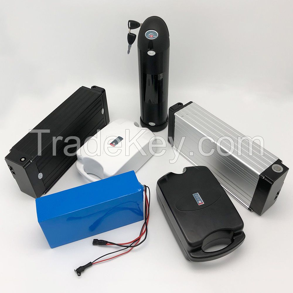 ebike battery  with18650 cell 36V 10aH 10S4P electric-bicycle bottle type battery best price under $125.5