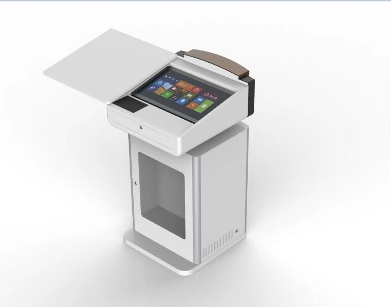 S800 Digital Podium with writable screen, auto lift for monitor