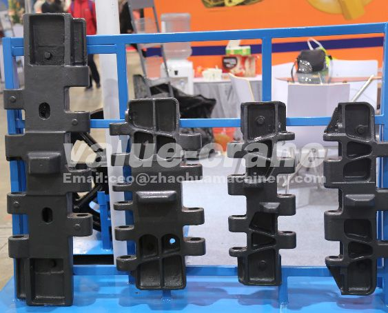 TEREX Superlift 3800 track shoe track pad track plate crawler crane of crawer crane parts quality and manufacturing products