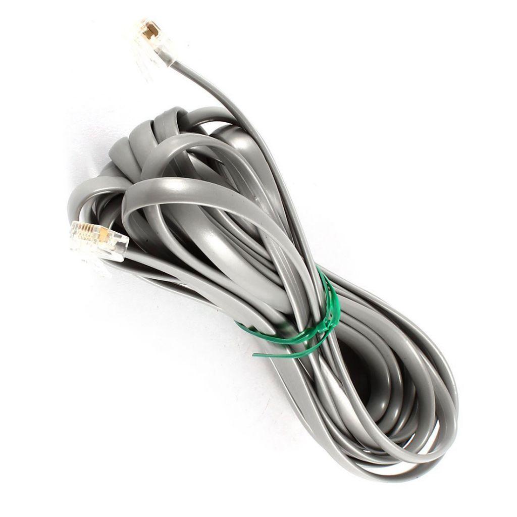 Light Cable Service Indoor Telephone Drop Cable 4p4c 6p2c 6p4c Rj11