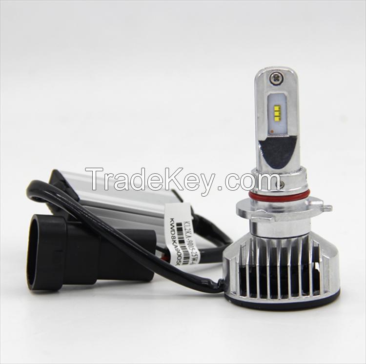 5000LM 6300K Pure White H1/H7/9005/9006 LED Auto Headlight Car LED Headlamp
