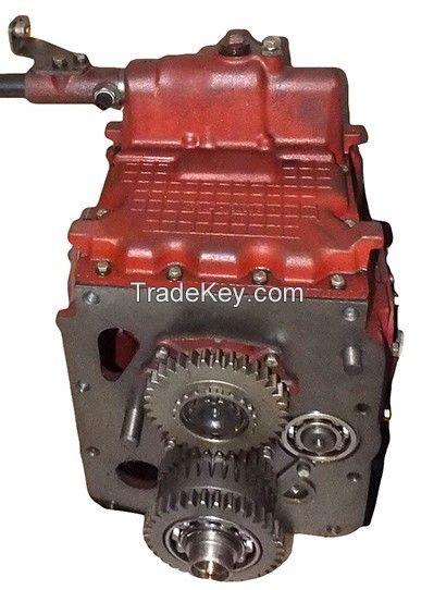 The gearbox of the tractor MTZ-80/82 (Belarus-80/82).