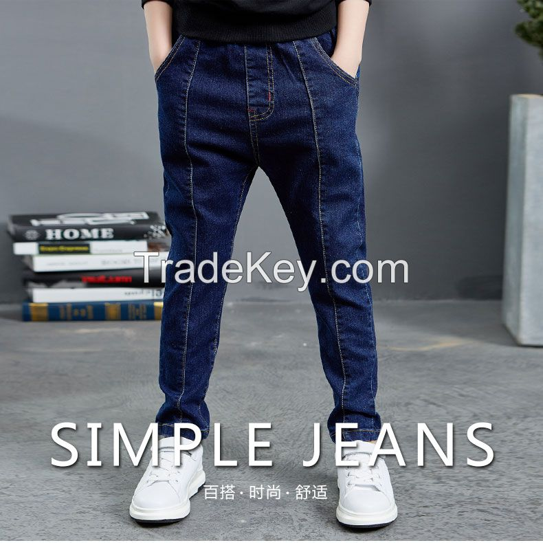 2018 new style childrens' jeans