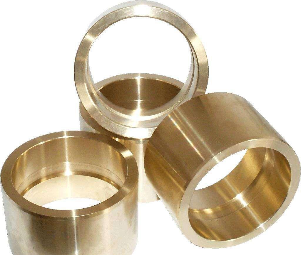 Customized CNC Machining Brass Bearing Bushing Bronze material