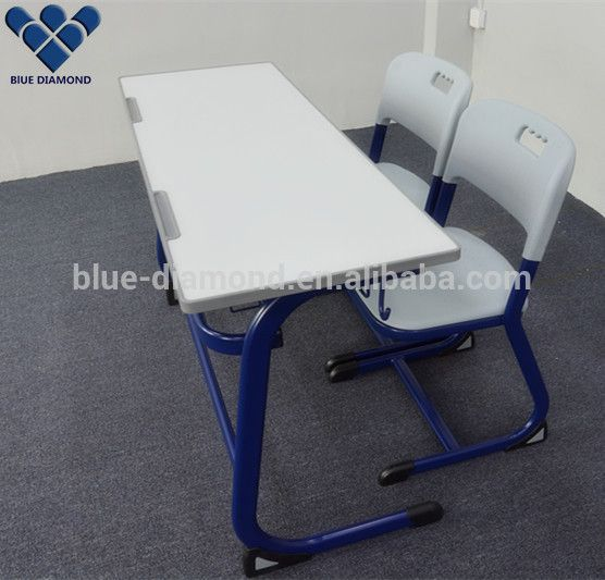 School double desk chair student school furniture study table chair set