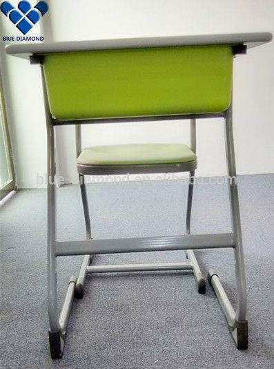 Fashion style student desk organizer set with chair