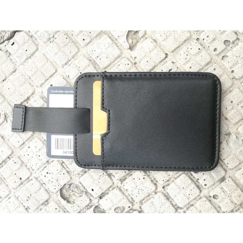 RFID Blocking leather card holder Minimalist design
