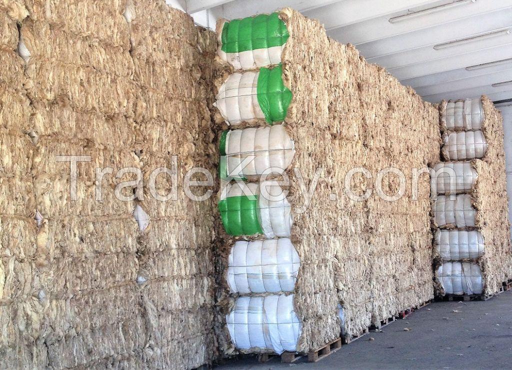 SARDINIAN CARPET GRADE GREASY WHITE WOOL