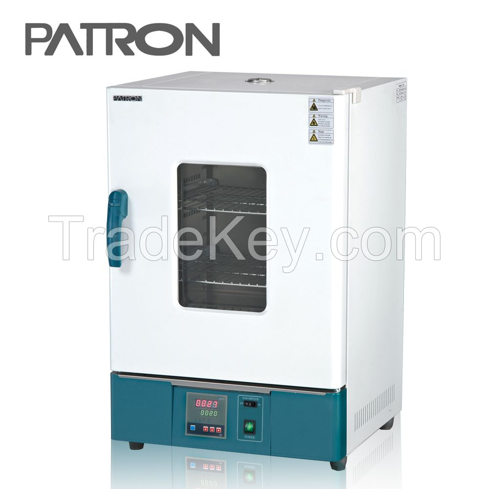 1.6KW industrial hot air circulating drying oven lab equipment