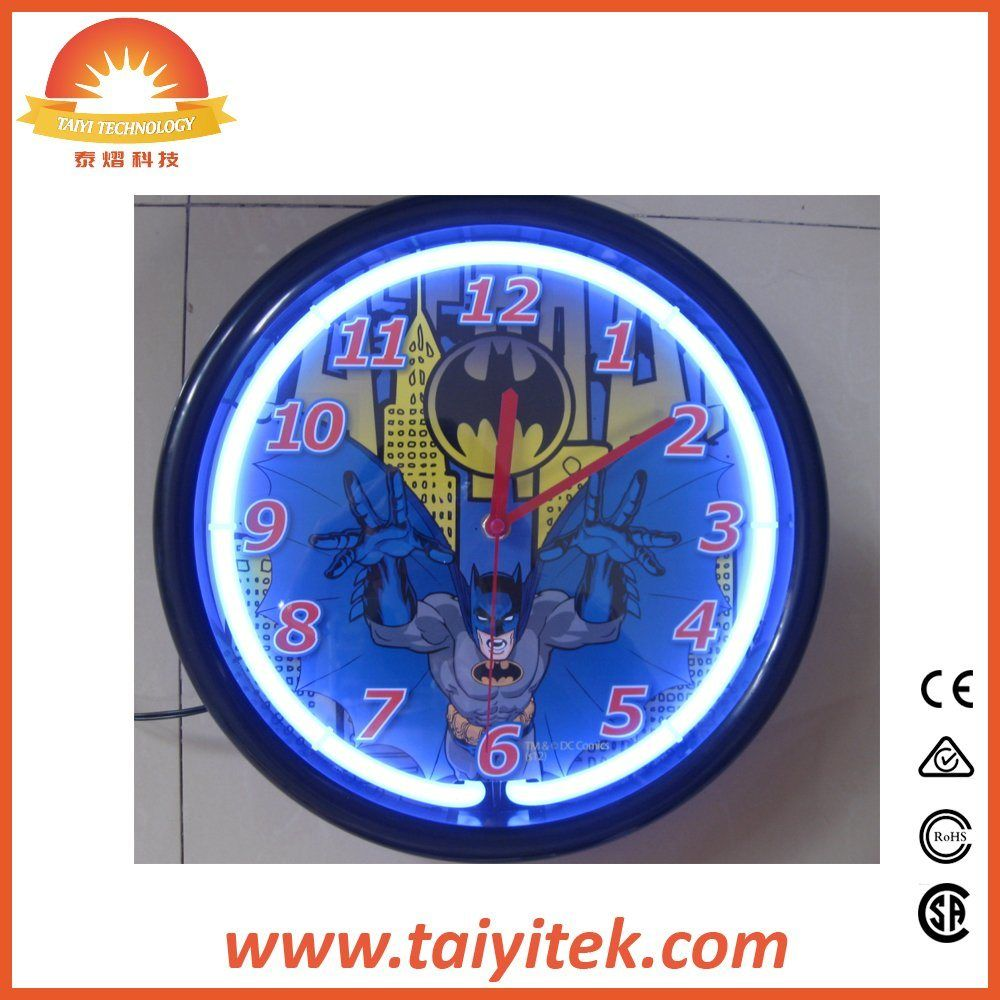 12/15Inch Neon Clock