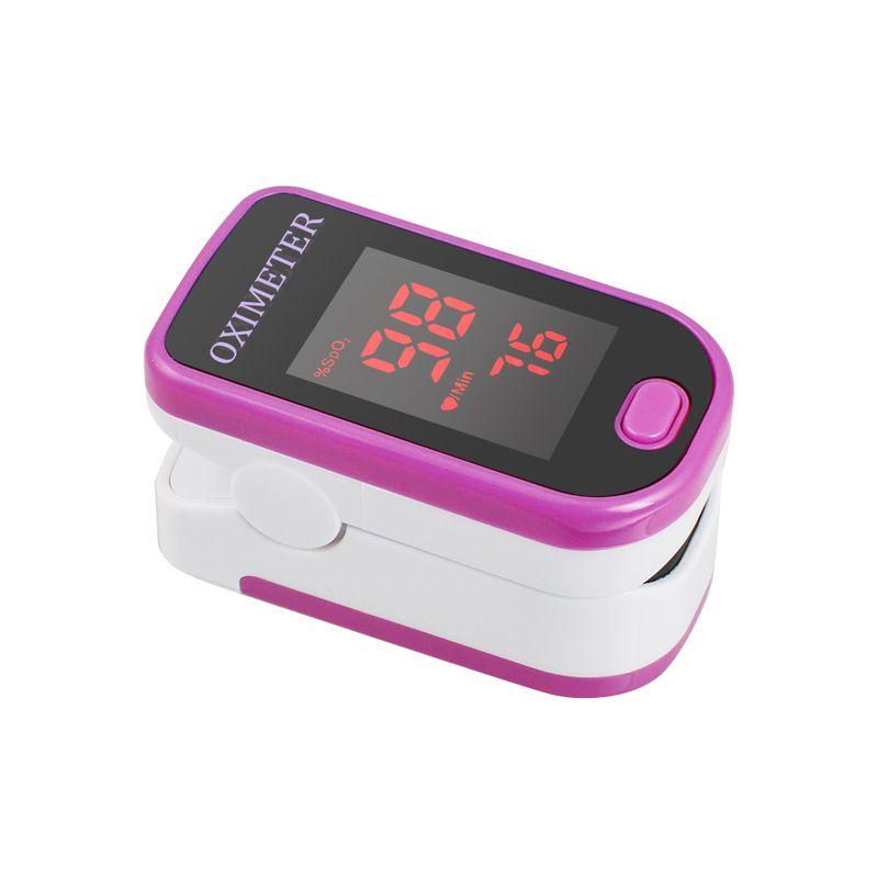 Heart Rate EaseAi Finger Pulse Oximeter Four Colors SpO2 CE