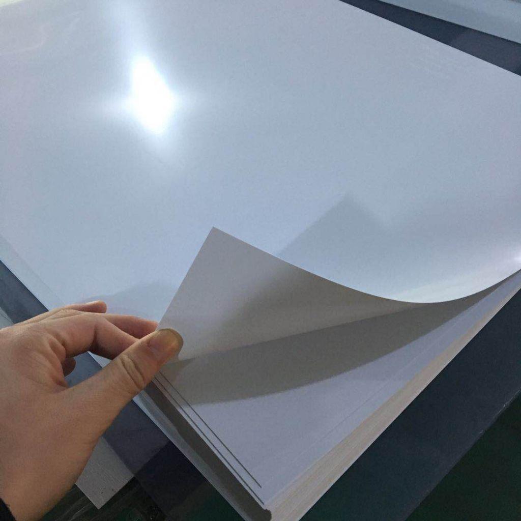 Factory sale rigid White PVC sheet price