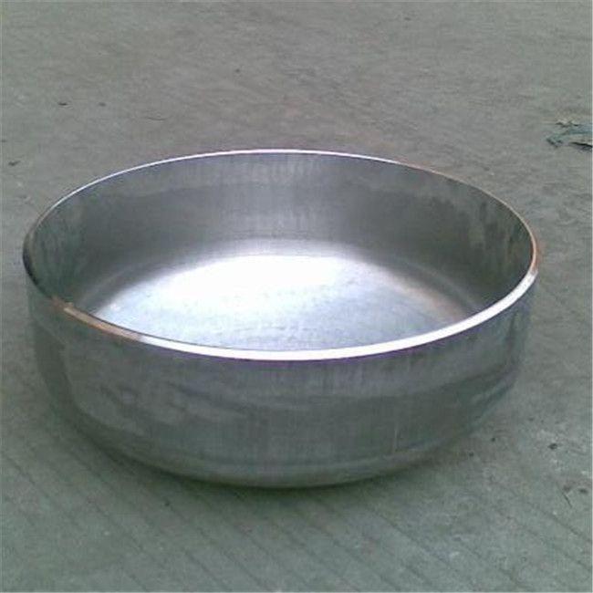 stainless steel hemisphere steel head flat head pipe fitting