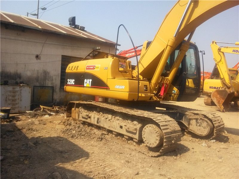 Used Cat 320c Excavator (caterpillar crawer excavator 320C)