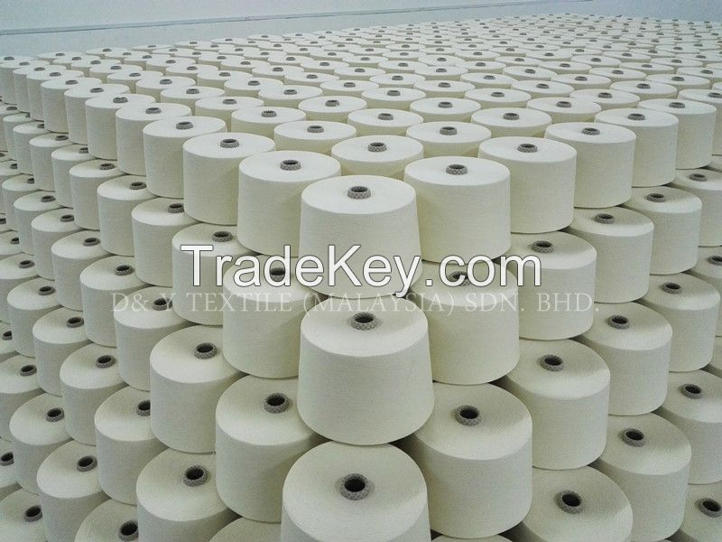 100% Cotton Carded Yarn for Knitting/ Weaving