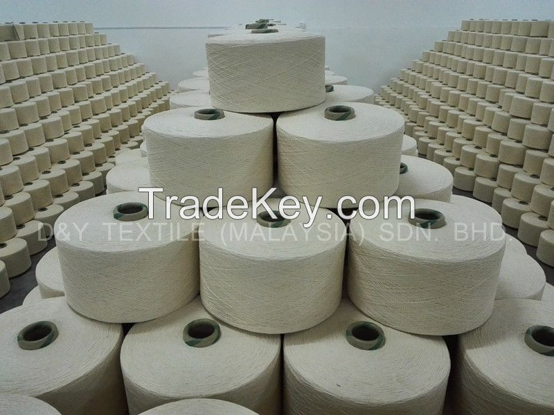 100% Cotton Open End yarn for Weaving, Contamination Free
