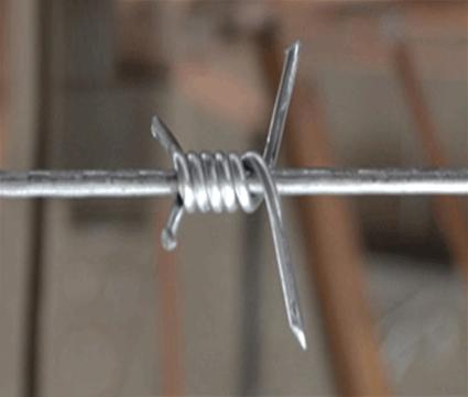Single Twist Barbed Wire