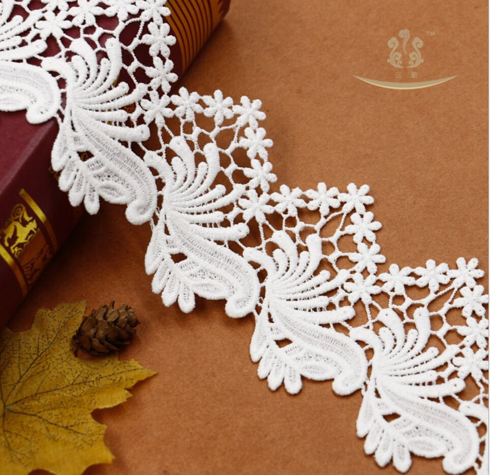 L40527 Hot Sale Water Soluble Lace for Lingerie