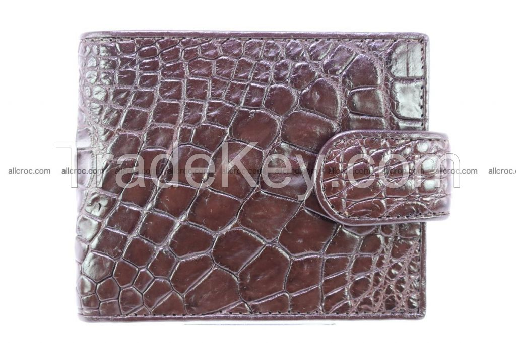 genuine crocodile skin wallet for sale