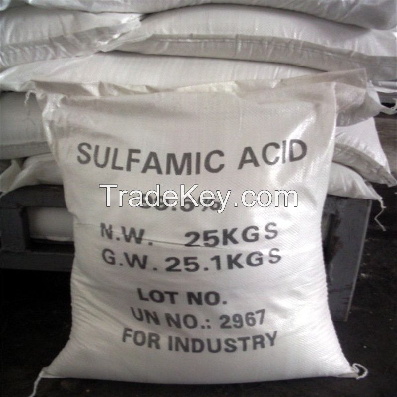the best price china industry grade 99.5% high quality sulfamic acid