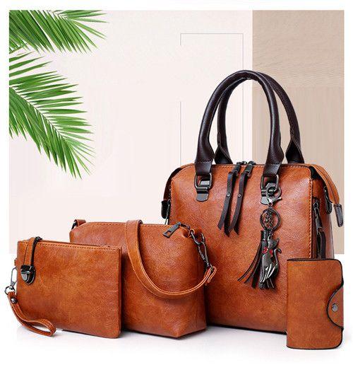 Wholesale Women Leather Bags Fashion Shoulder Bags Lady Handbag