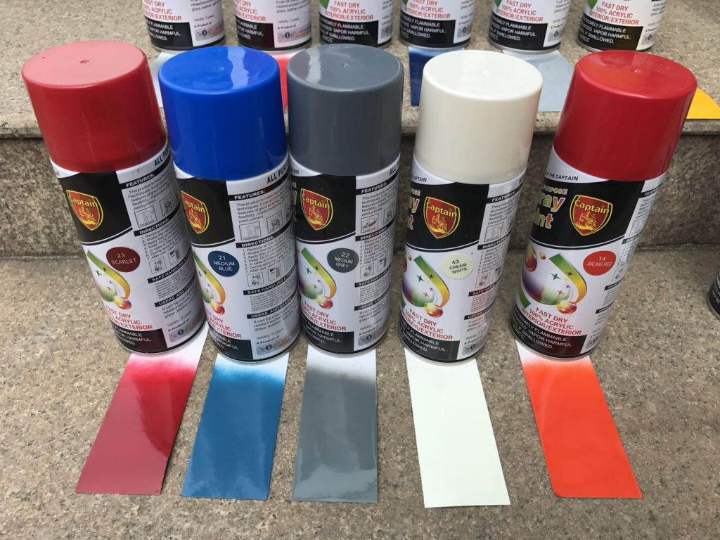 Good Quality Spray Paint With MSDS