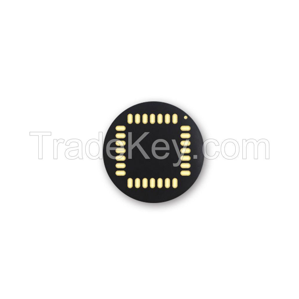 Round Capacitive Fingerprint Sensor with IP6