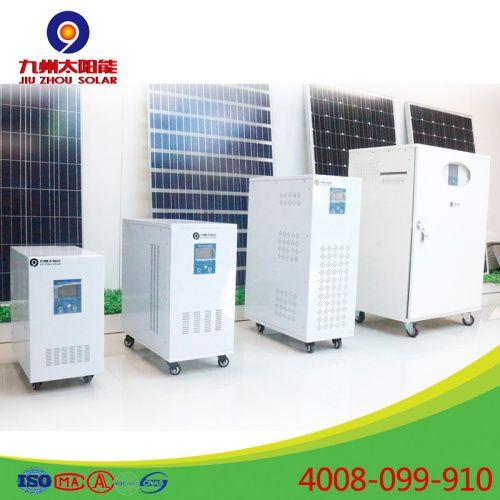 home generator portable solar energy storage generator 6000W