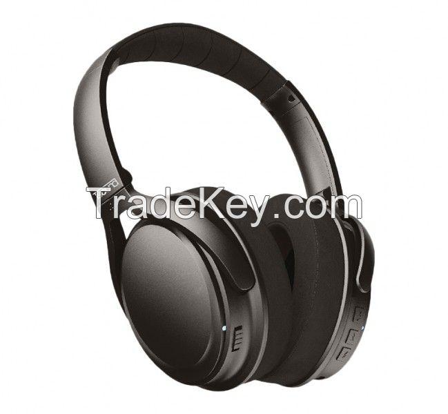 Tsound Active Noise Cancelling Headphones, Wireless Headphones,
