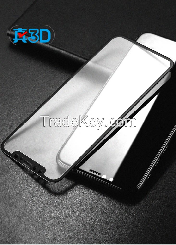 Hot bending invisible screen protector for iphone x