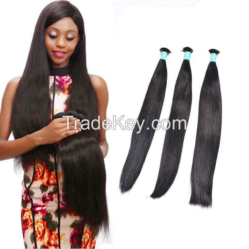 12''-28''Cuticle Aligned Indian Silky Straight Virgin Human Remy Hair Weaving Quality Supplier