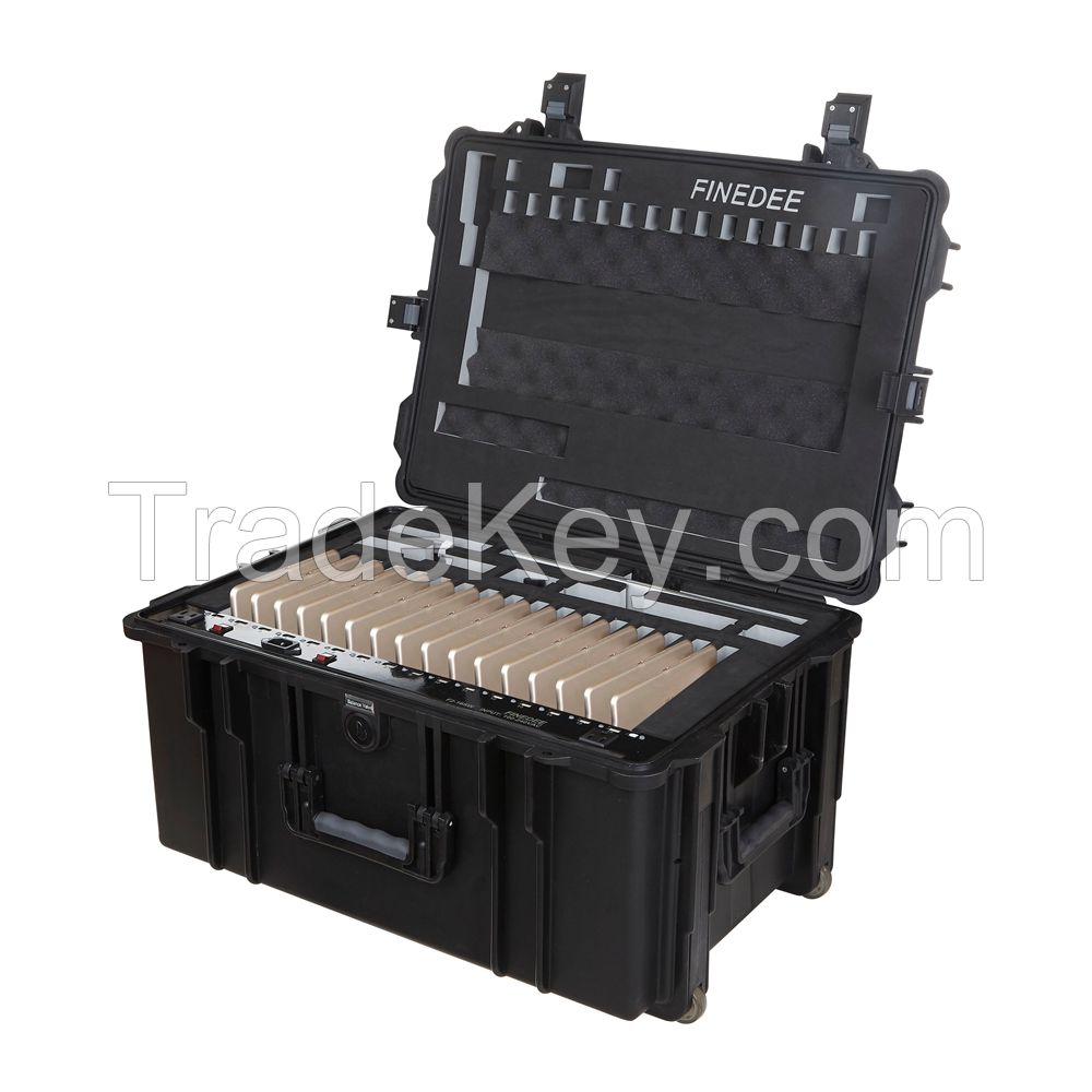 School Furniture Portable Tablet Charging Cart with SYNC