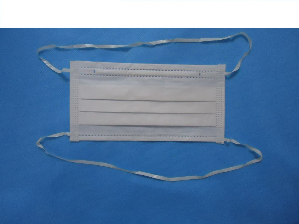 cleanroom face mask, cleanroom mask with pu earloop, pu headloop, elastic headloop, elastic earloop, tie on
