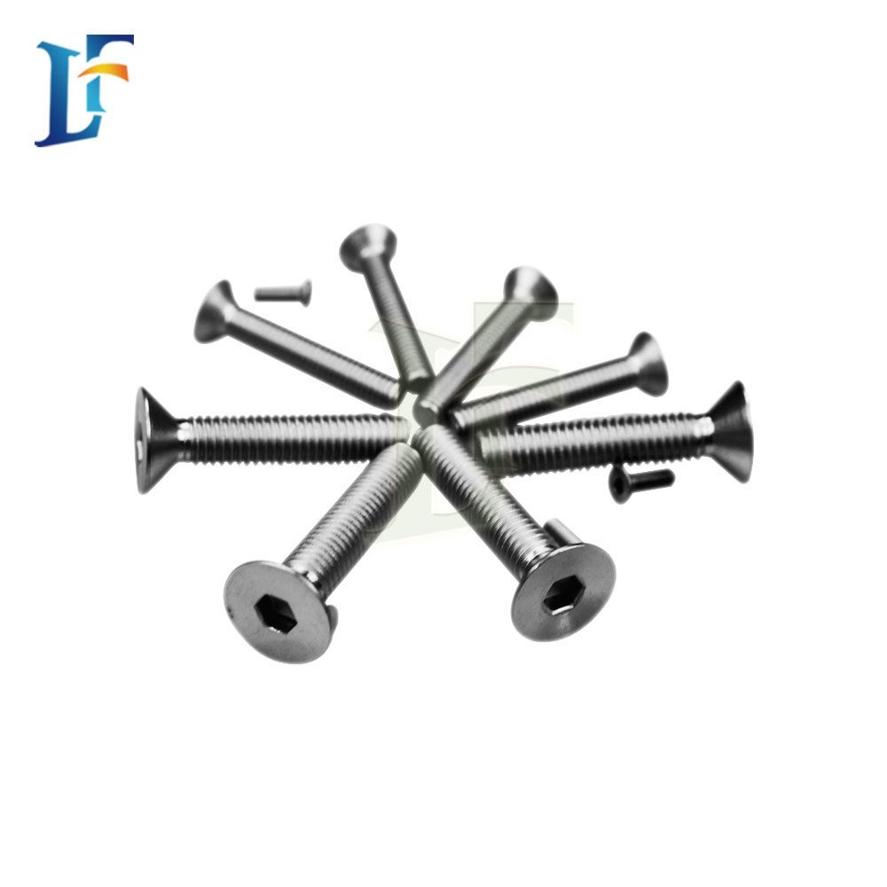 Precision Titanium Screw
