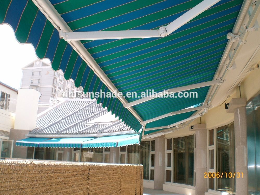 Heavy Duty Retractable Aluminum Awning By Dm Awning Materical China