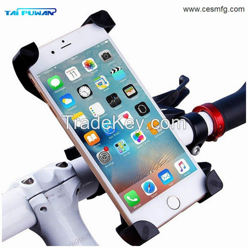 Wholesale Factory Bicycle Cell Mobile Phone Car Holder for IPhone Samsung Others Smartphones