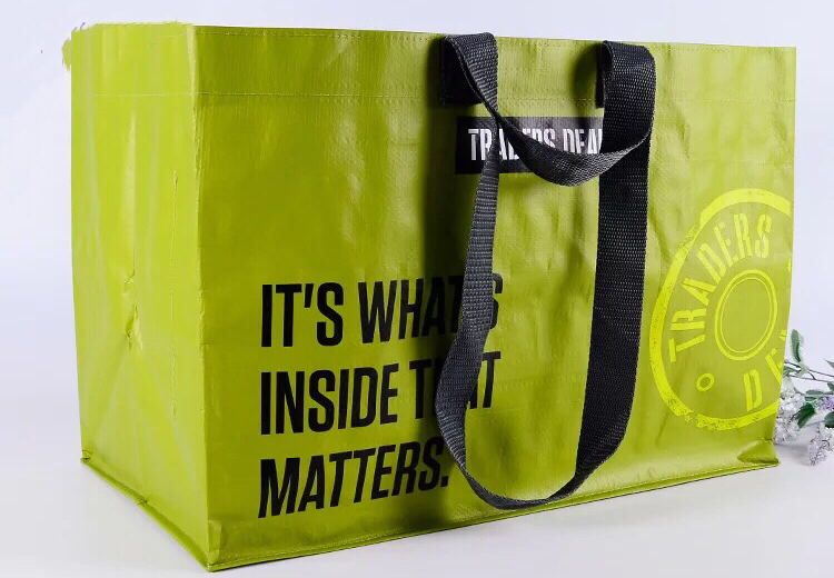 customized tote pp woven bag
