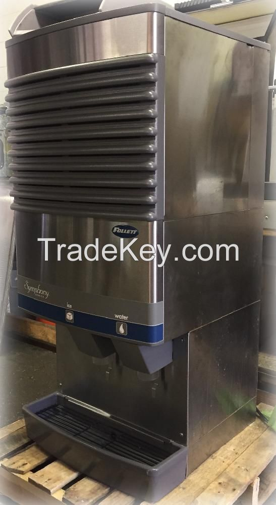 Follett 25CT400A Ice and water nugget ice and water dispenser