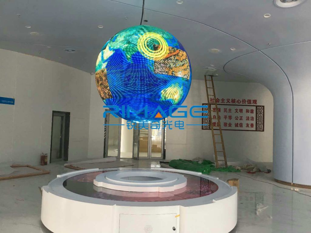 LED sphere display LED ball screen