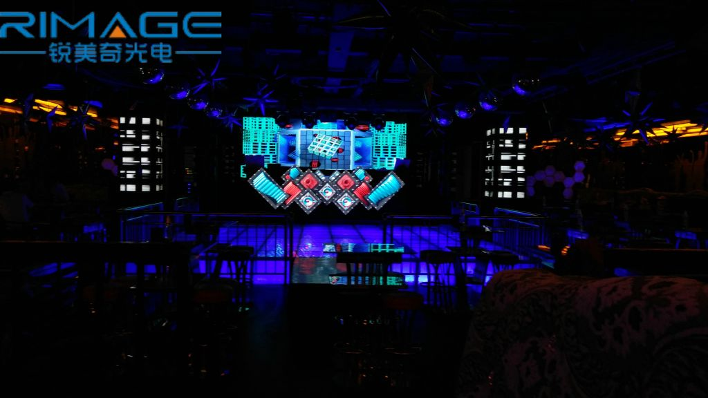 LED DJ booth for bar and nightclub