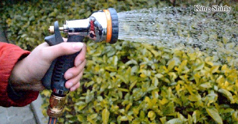 8-pattern metal water nozzle