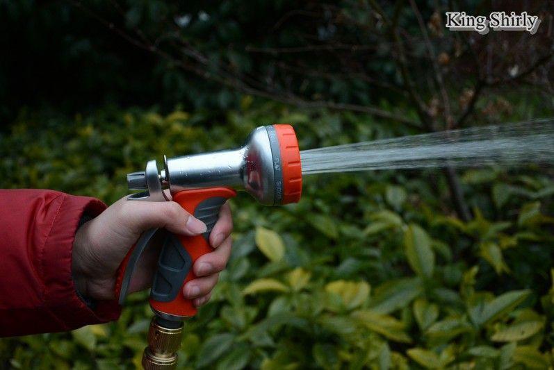 9-pattern metal water nozzle