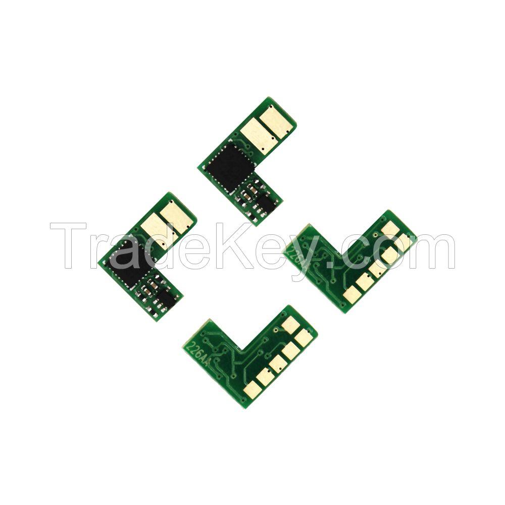 China factory CF400A CF400X compatible toner chip for HP Color Laserjet M252dw M252n M277n